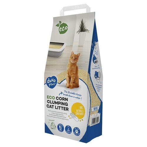 Duvo+ Katzenstreu Mais Eco, Gewicht: 10 kg