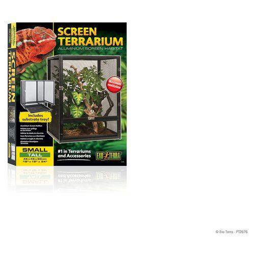 Exo Terra Aluminium Gaze Terrarium, Maße: 45 x 45 x 60 cm