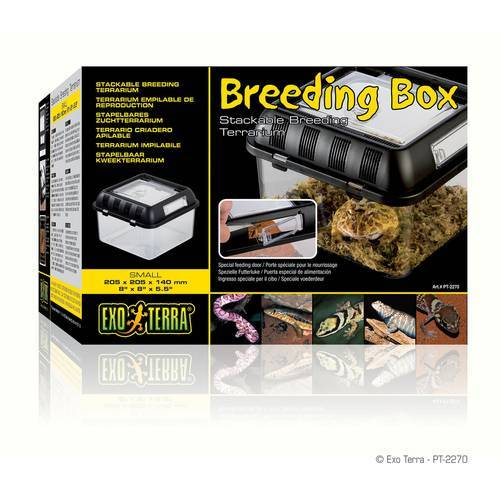 Exo Terra Breeding Box - Brutbox, klein / 21,2 x 21,2 x 15,5 cm
