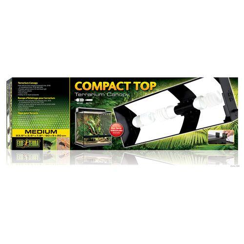 Exo Terra Compact Top Terrarienabdeckung, Maße: 60 x 9 x 20 cm