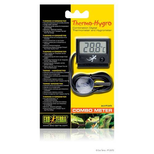 Exo Terra LED Thermo- und Hygrometer