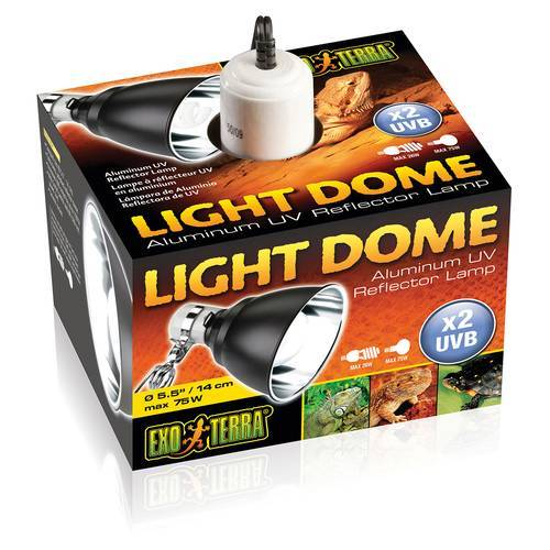 Exo Terra Light Dome Klemmlampe, Durchmesser: 14 cm
