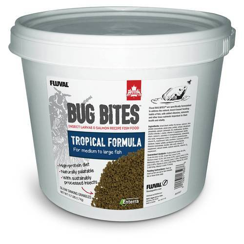 Fluval (28,64 EUR/kg) Fluval Bug Bites Tropische Fische 1,7 kg