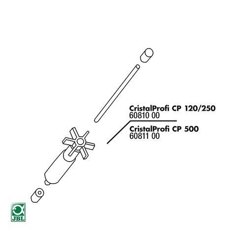 JBL Ersatzteil CP 500 Rotor-Set