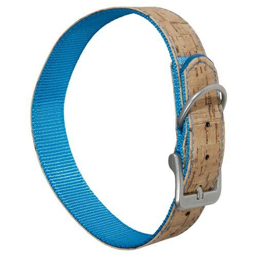 Karlie Halsband Kork blau, Länge: 65 cm