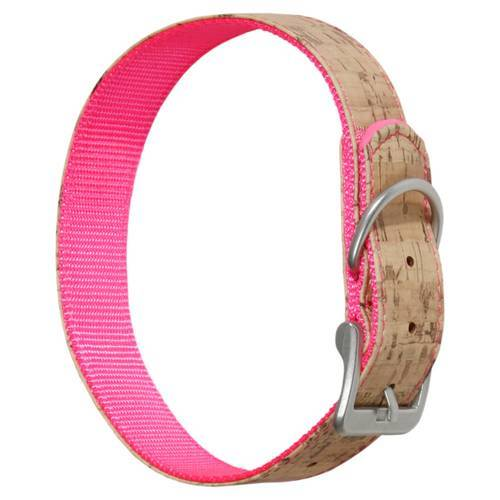 Karlie Halsband Kork rosa, Länge: 65 cm