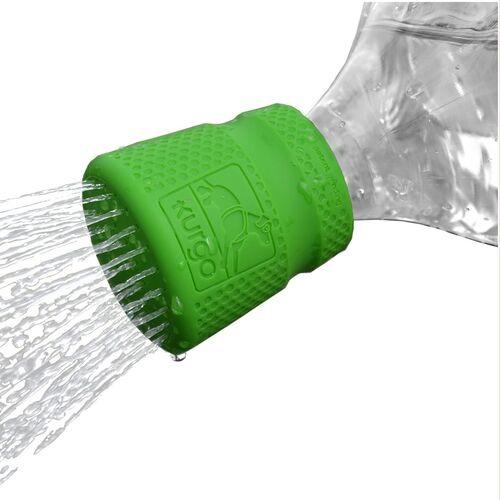 Kurgo Flaschenaufsatz Mud Dog Shower grün