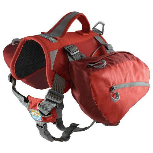 Kurgo Hundetasche Baxter Backpack rot, Gewicht des Hundes: 14 - 38 kg