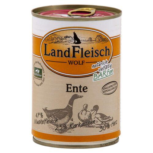Landfleisch (4,79 EUR/kg) Landfleisch Wolf 100% von der Ente 400 g - 12 Stück