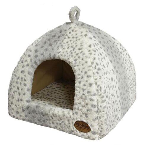 Nobby Höhle Alanis leopard grau für Hunde