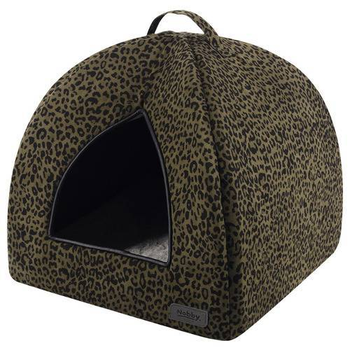 Nobby Höhle Leo leopard braun für Hunde