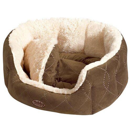 Nobby Katzenbett Ceno beige/braun, Maße: 45 x 40 x 19 cm
