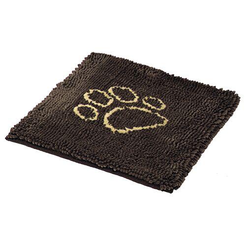 Nobby Schmutzfangmatte Dry & Clean braun für Hunde, Größe: M