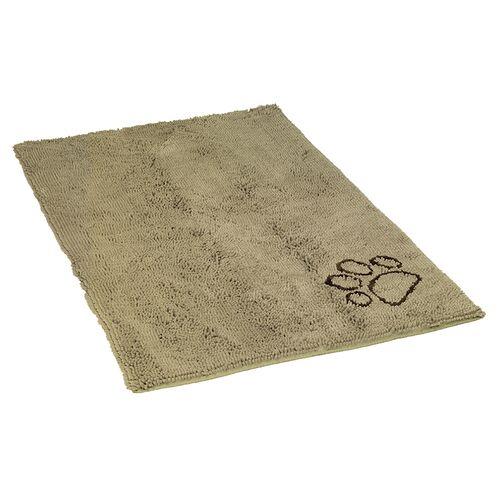 Nobby Schmutzfangmatte Dry & Clean taupe für Hunde, Größe: M