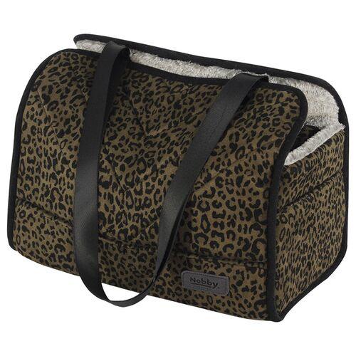 Nobby Tasche Leo leopard braun für Hunde