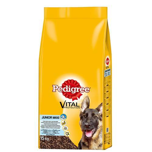 Pedigree (2,11 EUR/kg) Pedigree Junior Maxi mit Huhn & Reis 15 kg