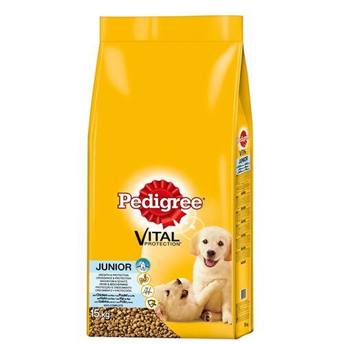Pedigree (2,33 EUR/kg) Pedigree Junior mit Huhn & Reis 15 kg