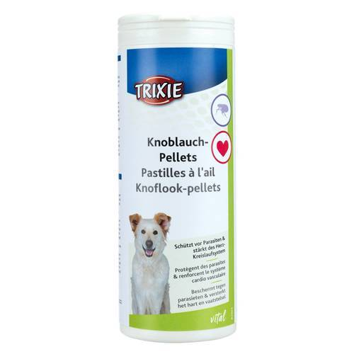 Trixie (8,00 EUR/kg) Trixie Knoblauch-Pellets für Hunde, Inhalt: 3 kg