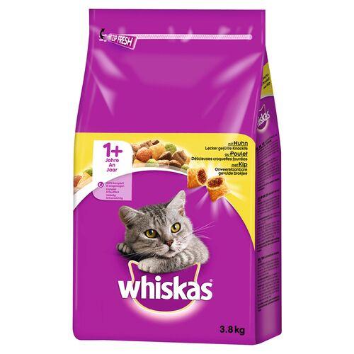 Whiskas (3,02 EUR/kg) Whiskas Adult 1+ mit Huhn 3,8 kg
