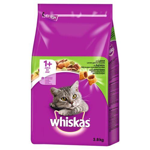 Whiskas (3,02 EUR/kg) Whiskas Adult 1+ mit Lamm 3,8 kg