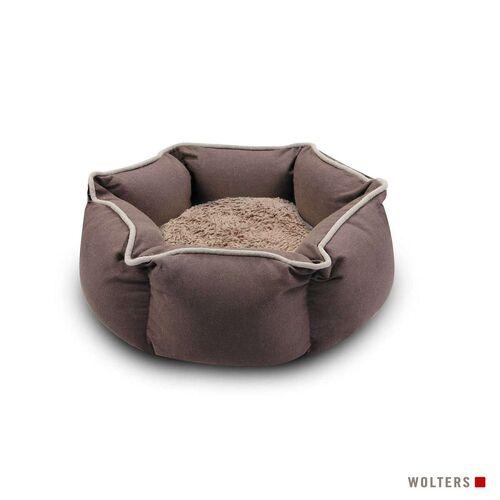 Wolters Eco-Well Katzen- & Hundebett braun/beige, Größe: M
