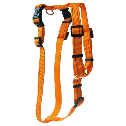 Wolters Geschirr Soft & Safe für Mops & Co. orange, Größe: L