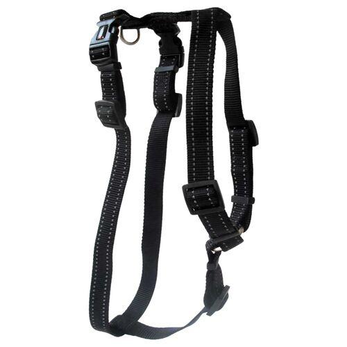 Wolters Geschirr Soft & Safe für Mops & Co. schwarz, Größe: XL