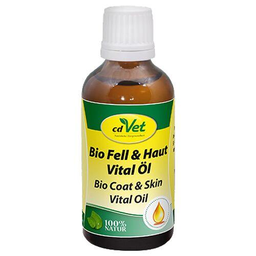 cdVet (28,98 EUR/100ml) cdVet Bio Fell & Haut Vital Öl für Katzen 50 ml