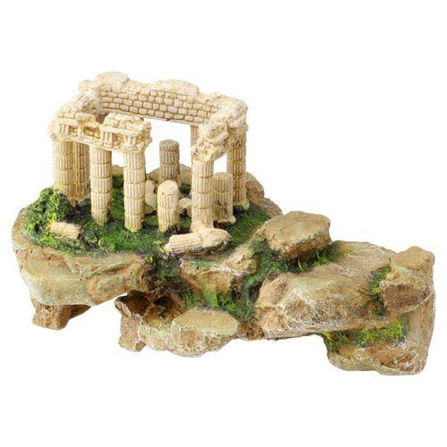 Aqua Della Aquariumdekoration Akropolis auf Felsen