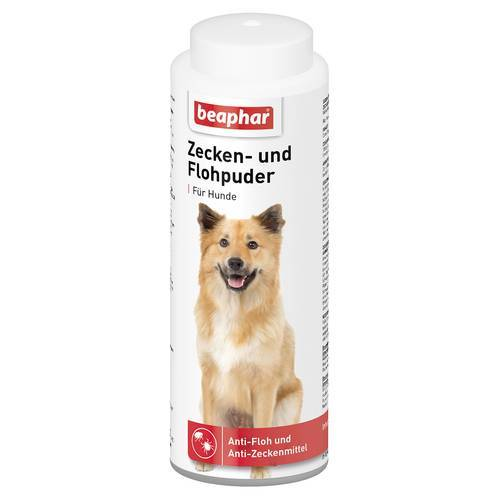 Beaphar (10,09 EUR/100g) Beaphar Zecken und Flohpuder für Hunde 100 g