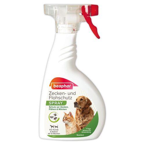 Beaphar (32,23 EUR/l) Beaphar Zecken- und Flohschutz Spray für Hunde 400 ml