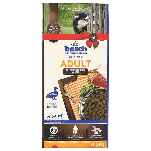 Bosch (2,63 EUR/kg) Bosch Adult mit Ente & Reis 15 kg