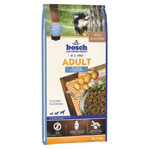 Bosch (2,43 EUR/kg) Bosch Adult mit Fisch & Kartoffel 15 kg