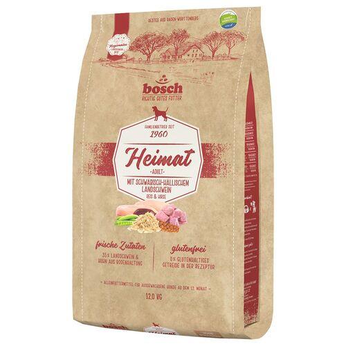 Bosch (4,16 EUR/kg) Bosch Heimat Adult mit Schwäbisch-hällischem Landschwein, Reis & Hirse 12 kg