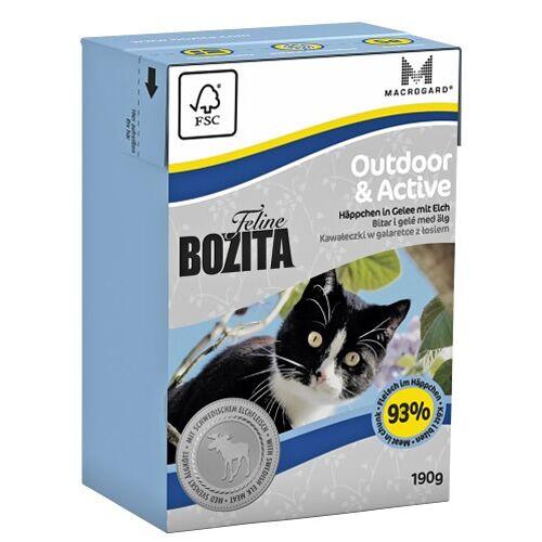 Bozita (5,72 EUR/kg) Bozita Outdoor & Active 190 g - 16 Stück
