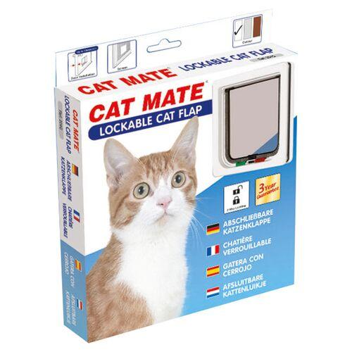 Cat Mate Katzentür mit Magnetverschluss 304 W weiß
