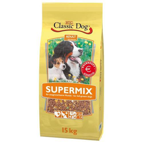 Classic Dog (1,40 EUR/kg) Classic Dog Classic Supermix 15 kg