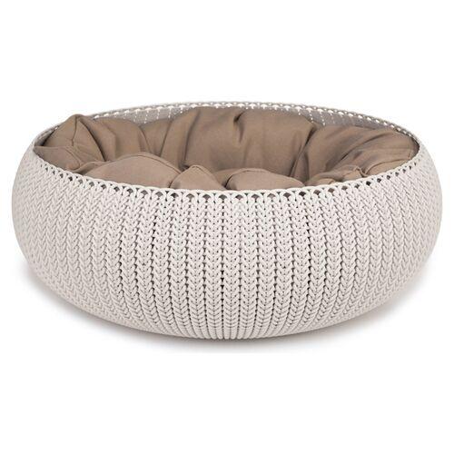 Curver Cozy Pet Bed creme für Katzen
