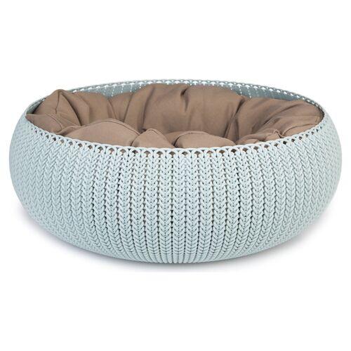 Curver Cozy Pet Bed hellblau für Katzen