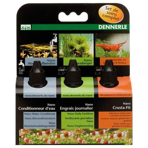 Dennerle (34,87 EUR/100ml) Dennerle Nano Pflegeset 3x15 ml
