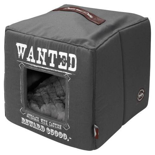 D&D Home Collection Wanted Petcube grau