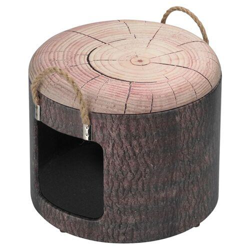 D&D Katzenhaus Petbox Wood, Größe: S