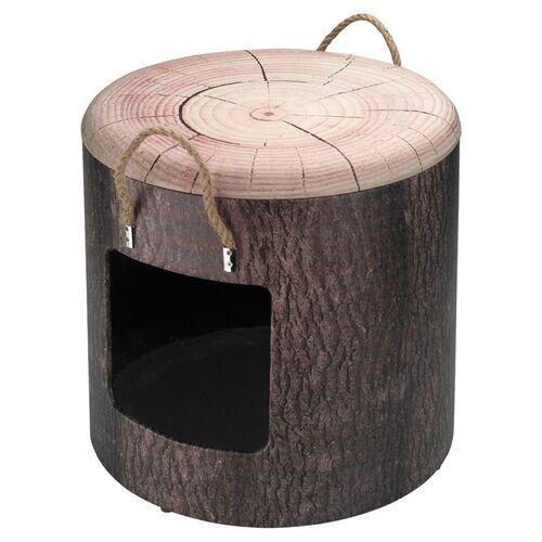 D&D Katzenhaus Petbox Wood, Größe: L