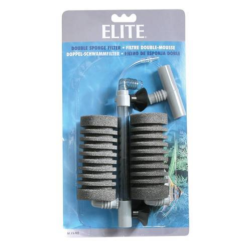 Elite Doppel-Schwammfilter