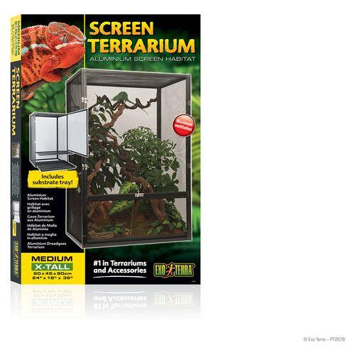 Exo Terra Aluminium Gaze Terrarium, Maße: 60 x 45 x 90 cm