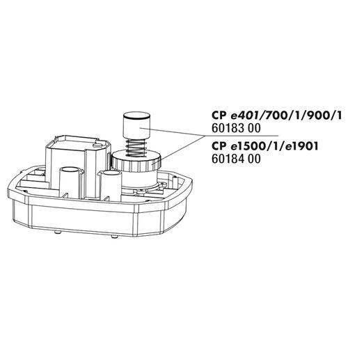 JBL Ersatzteil CP e15/1900/1 Startknopf + Überwurfmutter