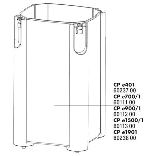 JBL Ersatzteil CP e401 Filterbehälter