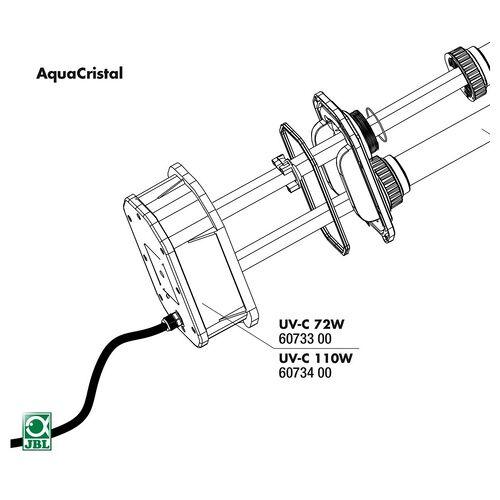 JBL Ersatzteil Elektroeinheit UV-C 72 W