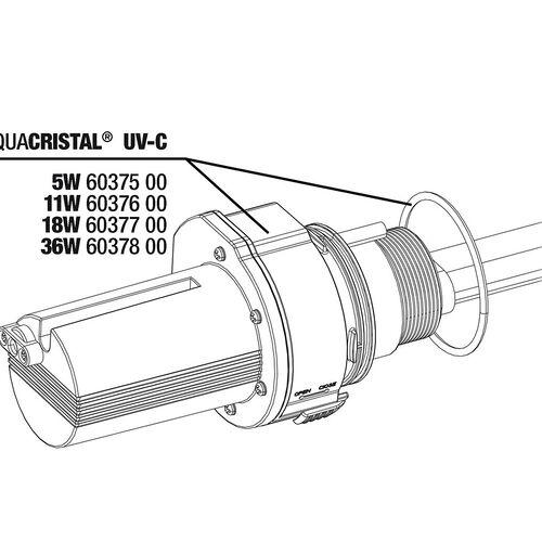 JBL Ersatzteil PC UV-C Elektroeinheit 5 W