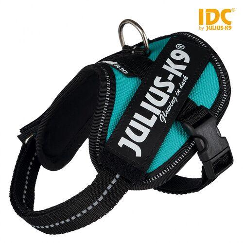 Julius-K9 IDC Powergeschirr petrol, Größe: Baby 2 / XS-S